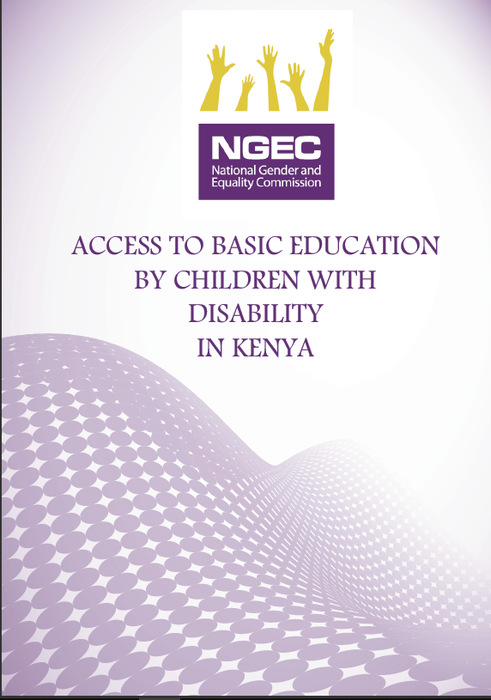 Access to Basic Education by Children with Disability