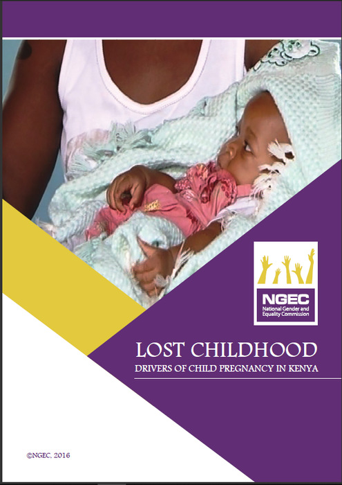 Lost Childhood Drivers of Child Pregnancy in Kenya