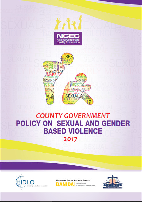 NGEC Model Policy on GBV for County Govts