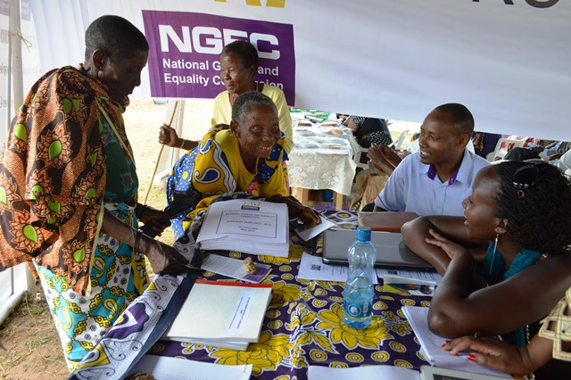 Older persons complain to NGEC over delayed funds