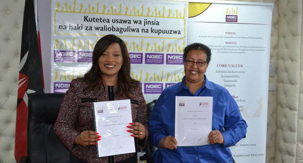 NGEC, Equality Now sign partnership MoU