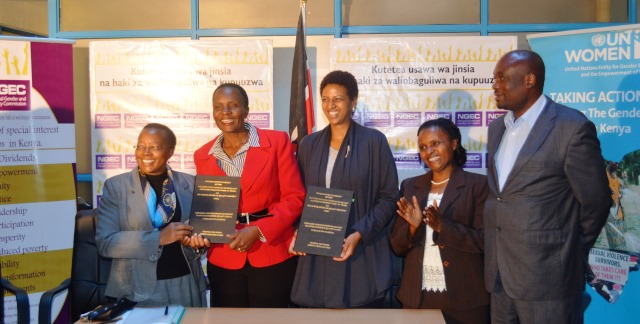 NGEC partners with UN Women to boost equality interventions