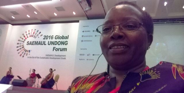 NGEC ATTENDS THE 2016 GLOBAL SAEMAUL UNDONG FORUM