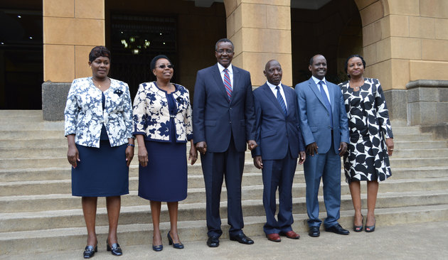 New Chairperson and Commissioners take oath of office