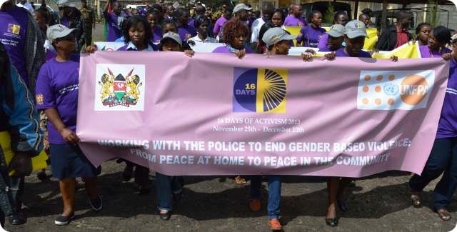 16 days of GBV activism launched