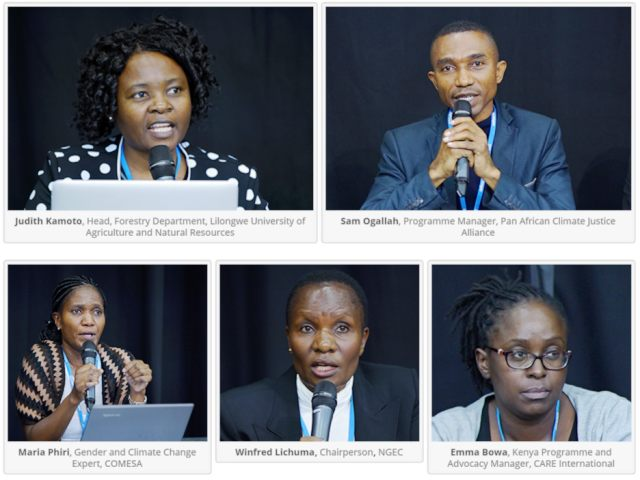PACJA Side Event Report -Gender and CC-The African perspectives
