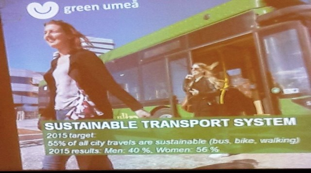 Looking at climate change and transport from a gender perspective
