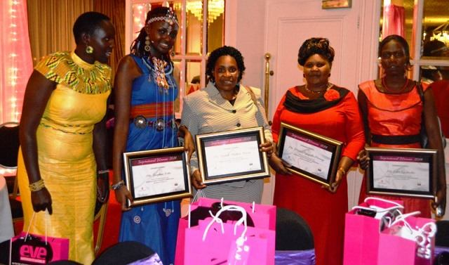 Pomp and colour at inaugural Inspirational Women of the Year awards 2014